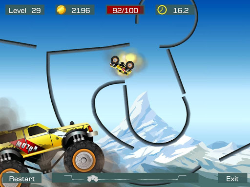 Monster Stunts -- monster truck stunt racing game screenshots 10