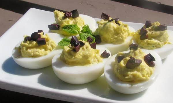Greek Deviled Eggs With Ouzo Recipe