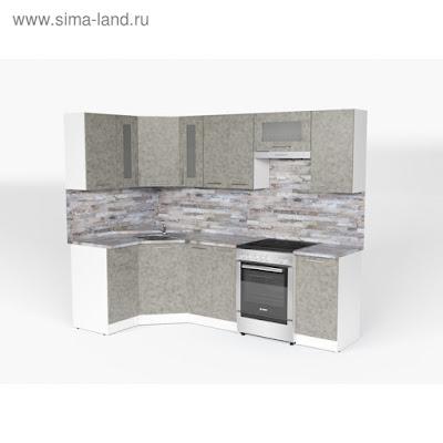 Кухонный гарнитур Валерия оптима 1 1300*2500 мм