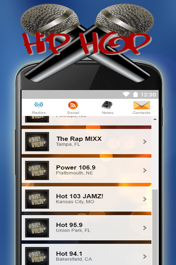 hip hop radio station android apps on google play. Black Bedroom Furniture Sets. Home Design Ideas