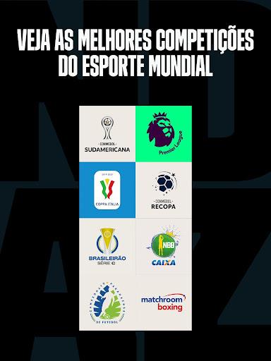 DAZN Esportes ao vivo: Futebol, basquete e mais Screen Shot