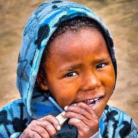 Hunger by Stephen Fouche - Babies & Children Children Candids