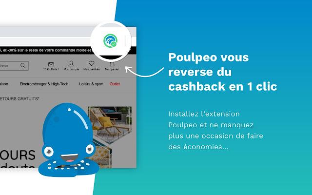 Poulpeo - Cashback & Réductions