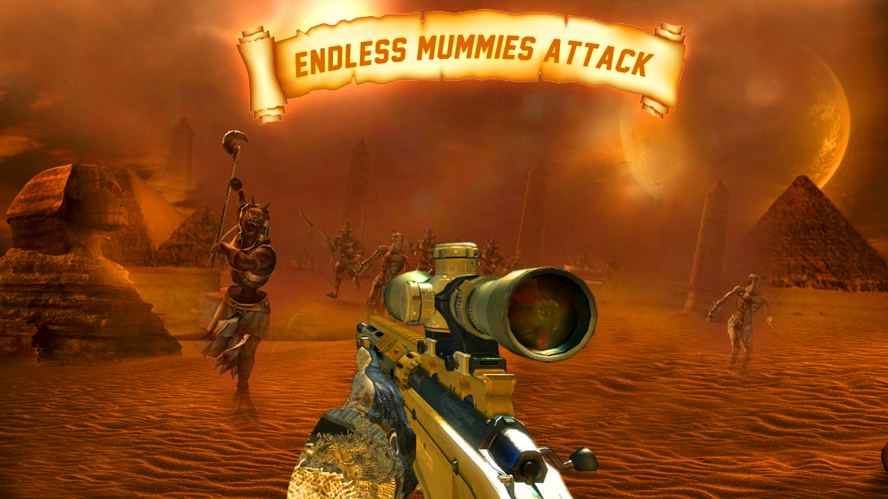 Mummy Crime Attack Simulator FPS- screenshot