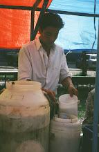 Photo: 03079 ウランバートル/風景/ダライ・エージ(海の母)/食料品専門の市場