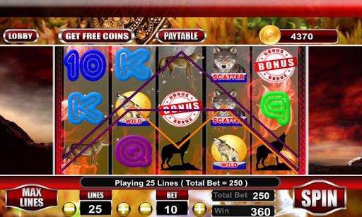 WIld Wolf Slot Casino
