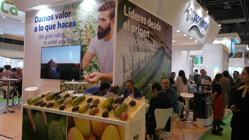 Stand de Grupo Agroponiente en Fruit Attraction.