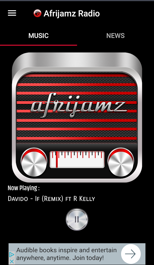 Afrijamz Radio- screenshot
