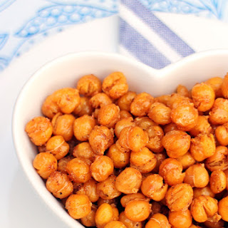 Smokey Maple Roasted Chickpeas - ActiFry.