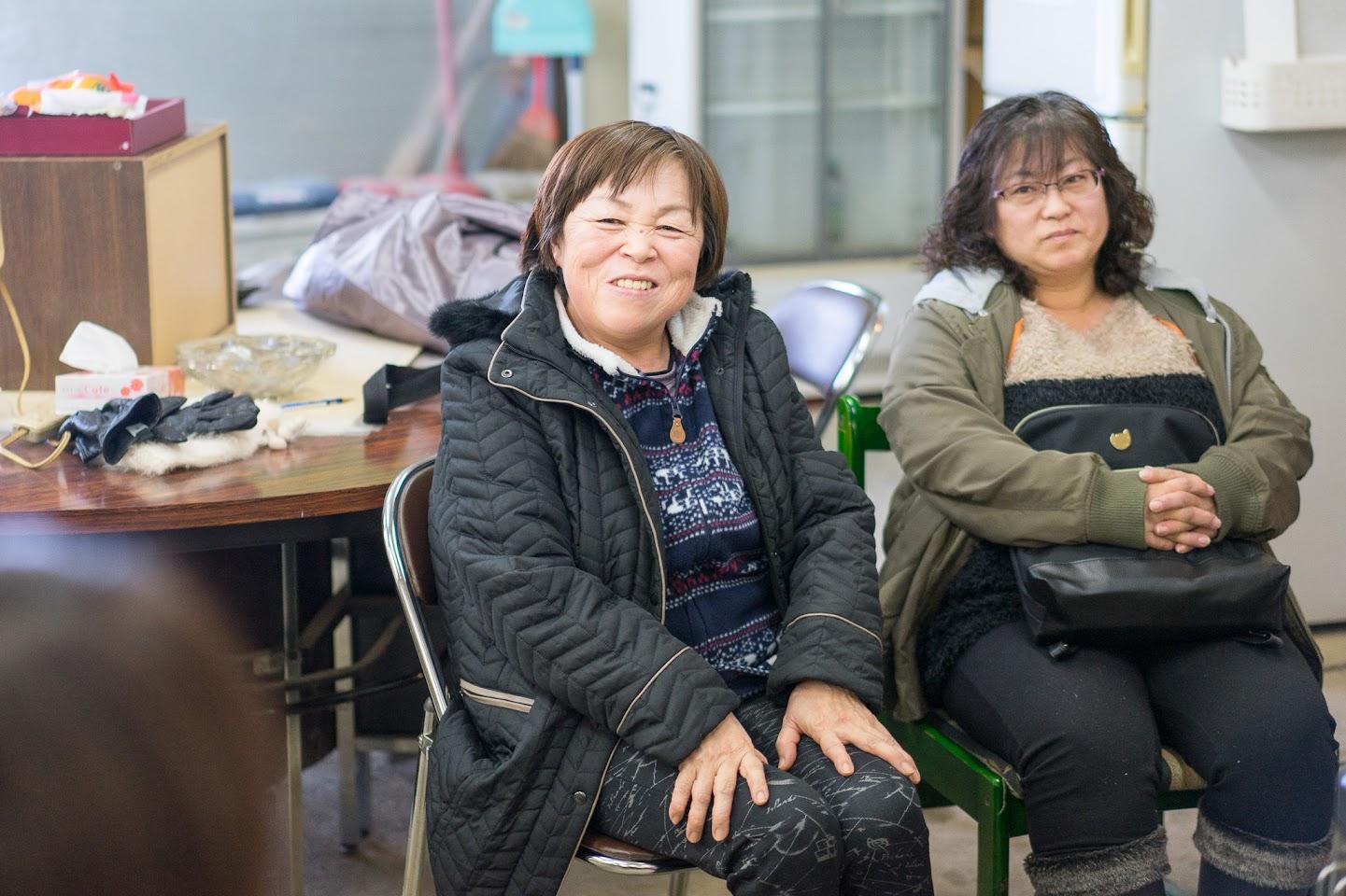 吉尾千佳さん(左)、森島みゆきさん(右)