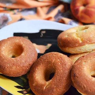 Jalapeño and Peach Cornbread Dinner Donuts.