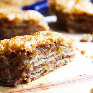 Easy Baklava Recipe With Walnuts, Dates & Fig Jam.