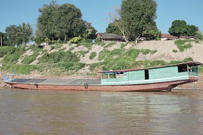 Unterwegs auf dem Mekong