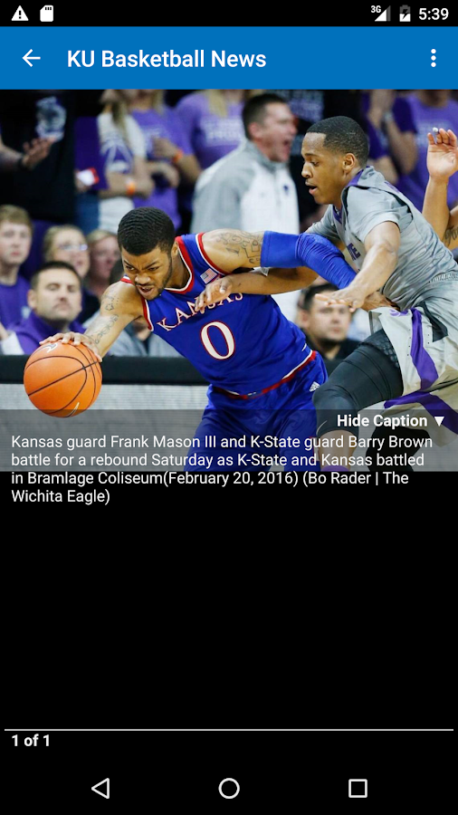 KU Hoops- screenshot