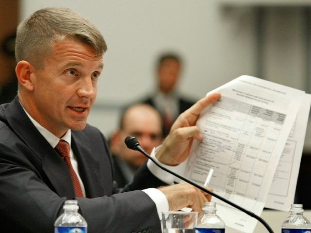 Eric Prince: The founder of infamous Blackwater (Photo: AFP/FILE)