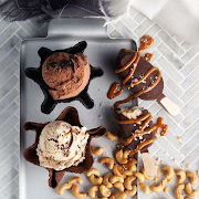 So Delicious Cashew Dipped Salted Caramel Ice Cream Bar