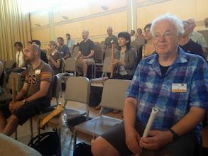 Photo: At the morning robuki Participants listening while Kakizakai is explaining