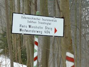 Photo: Es handelt sicht sich um den Wieshofer Steig; es ist recht 'unrythmisch' und mußte (zumindest heute) im Mittelteil links umgangen werden.   :-(