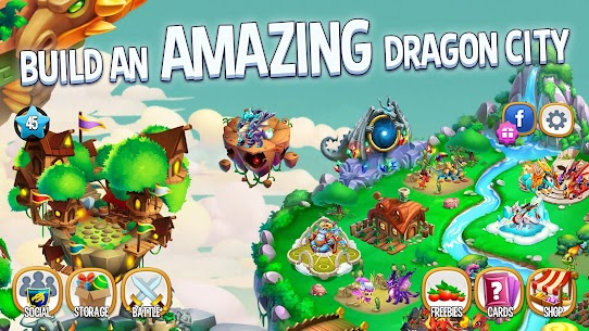 Dragon City – Collect, Evolve & Build your Island 1