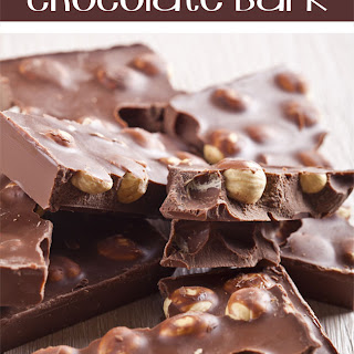 Hazelnut Sea Salt Chocolate Bark Recipe