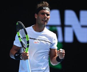 Rafael Nadal kent geen problemen met de Cyprioot Baghdatis en plaatst zich als laatste voor derde ronde
