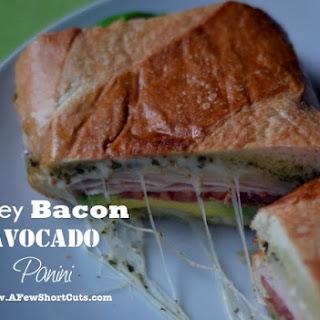 Turkey Bacon Avocado Panini.