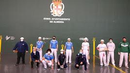 El Club Pelota Almería, líder tras la primera jornada del Campeonato de España 2021.