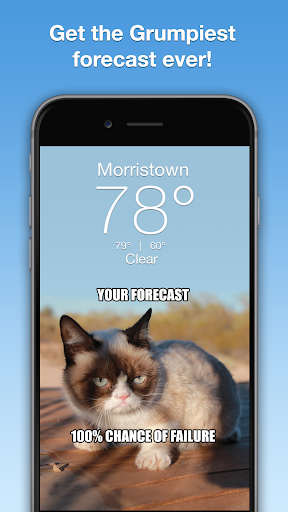 Grumpy Cat Weather 4.9.8 Apk for Android 1