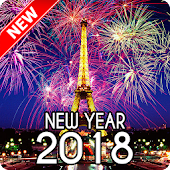 New Year 2018 Wallpaper (Eiffel)
