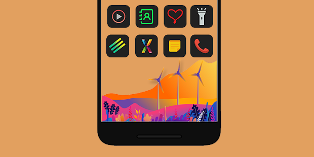 Fargon - Icon Pack Screenshot