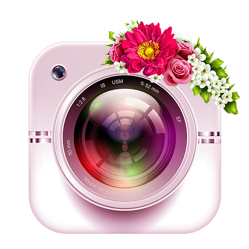 Women Day Photo Frames 2019: Flower Crown & Editor Icon