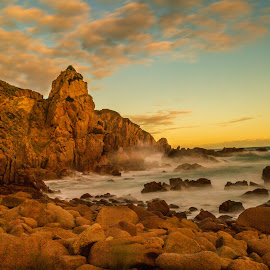 The Rocks of Woolamai by Madhujith Venkatakrishna - Landscapes Beaches