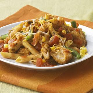 Cheesy Chicken & Salsa Skillet