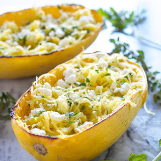 Spaghetti Squash Feta Cheese Recipes