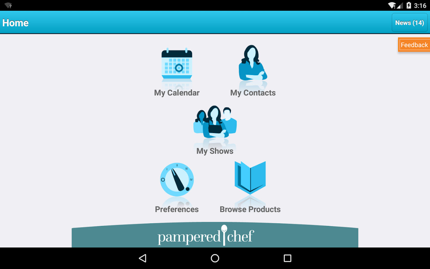 pamperedchef- screenshot