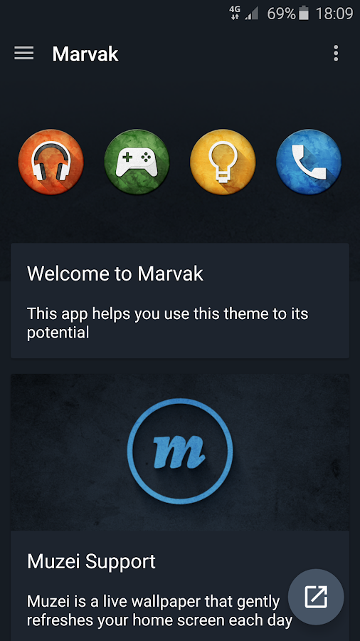 Marvak - Icon Pack - screenshot