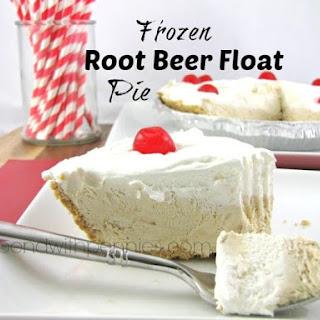 Frozen Root Beer Float Pie.