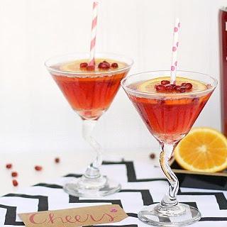 Pomegranate Sparkling Martini Recipe