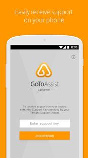 GoToAssist Customer - náhled