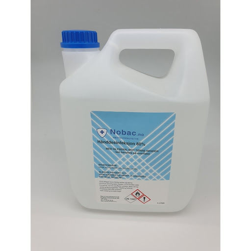 Nobac hånddesinfeksjon 4 liter