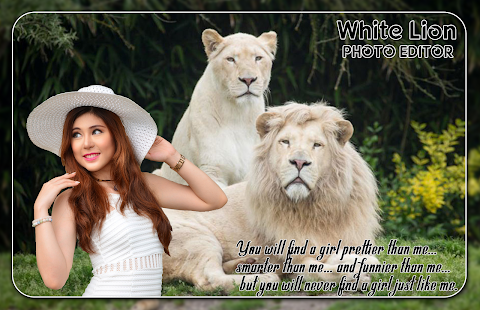 White Lion Photo Editor - náhled