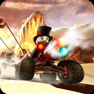 دانلود نسخه مود شده بازی Cracking Sands - Combat Racing کراش اندروید