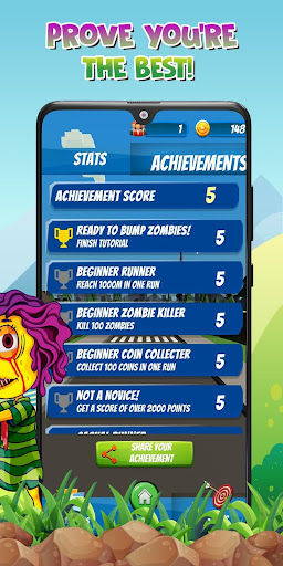 Zombump: Zombie Endless Runner 1.5 screenshots 16