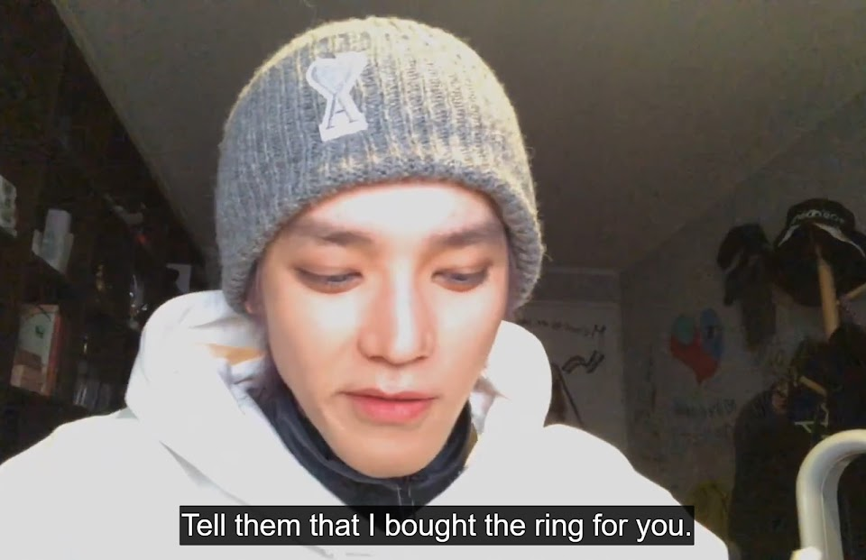 1 nct 127 taeyong live couple ring