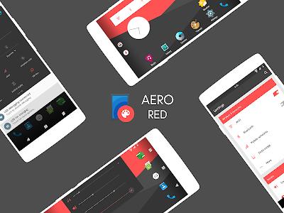 Aero - CM13/12.1/12 Theme v0.0.1
