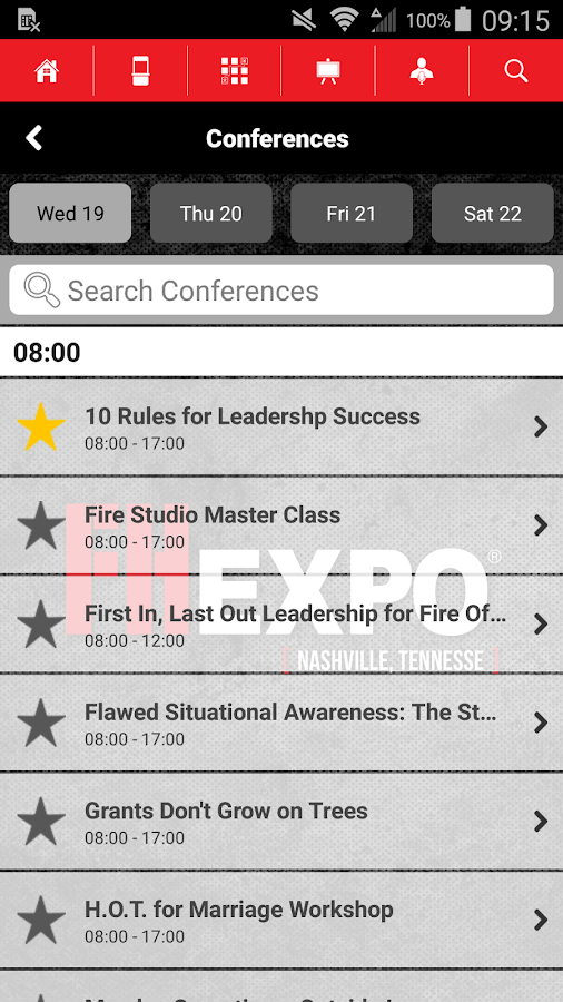 Firehouse Expo- screenshot