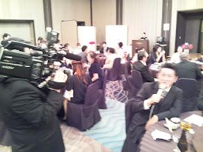 Photo: タケウチさんも、メッセージ注入中!