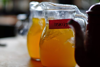 Photo: Tea Sparkling with Honey from Japanese Bees