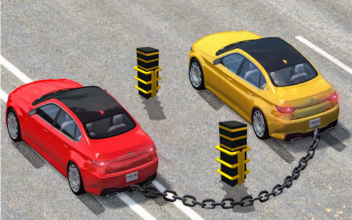 Chained car games - náhled
