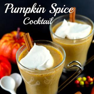 Warm Pumpkin Spice Cocktail Recipe